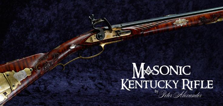 Masonic Kentucky Rifle